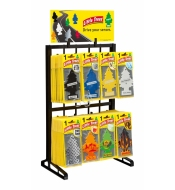 Counter Display Rack 6 / 8 Hooks (Plastic)